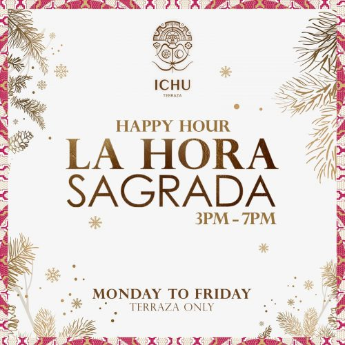 ICHU Restaurant & Bar | Events | HAPPY HOUR