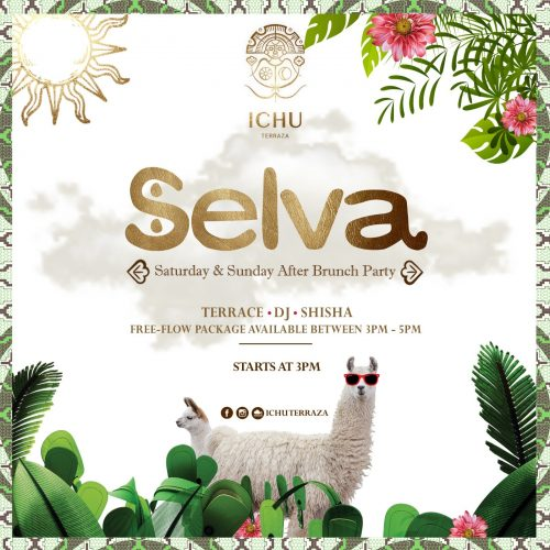 ICHU Restaurant & Bar | Events | SELVA