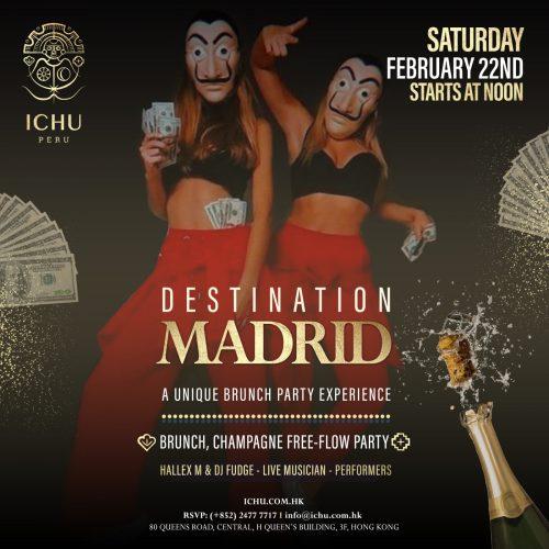 ICHU Restaurant & Bar - Party Brunch - Download pdf